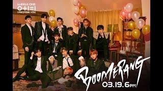BOOMERANG (부메랑) - Wanna One (워너원) - Audio