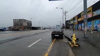 BENZ W213 E63AMG 브라부스 가변배기 주행영…
