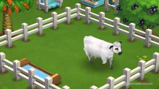 American White Park Cow - FarmVille 2