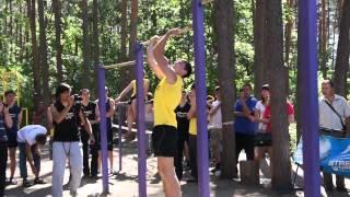 Владислав Тимофеев - 2 место на Demix Street Workout 2012