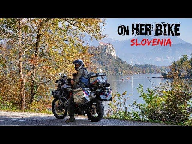Slovenia. On Her Bike Around the World. Episode 28