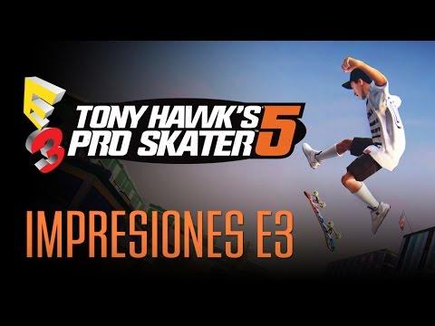 TONY HAWK'S 5: PRO SKATER - Impresiones con Gameplay