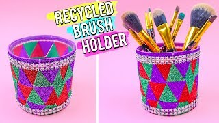 Recycled Brush Holder | Best Out of Waste - Easy 5 Minutes DIY Craft Ideas.