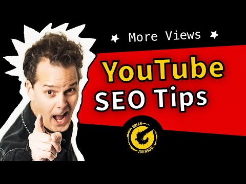 YouTube SEO Tips 2018