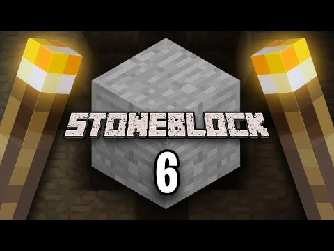 Minecraft: StoneBlock Survival Ep. 6 - PEOPLE TUBES