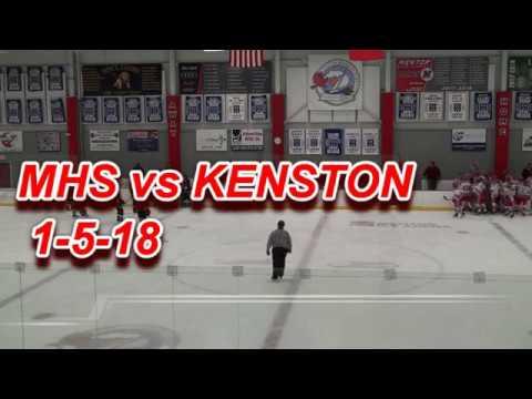 Mentor HS Cardinals Hockey vs Kenston Bombers 1-5-2018