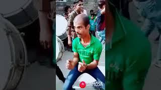 Funny dance by a drunken guy.