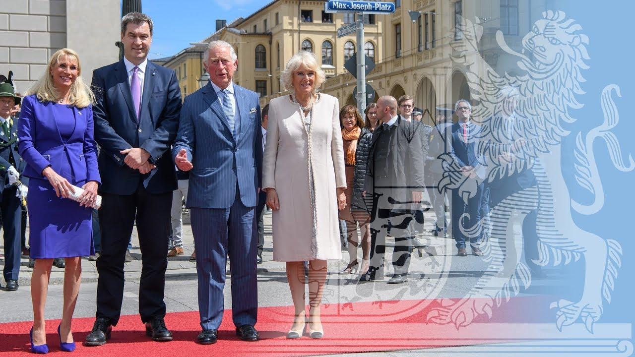 Prinz Charles Und Herzogin Camilla In Bayern Bayern