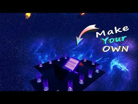 How To Make Your Own GALAXY 1v1 Map In Fortnite.... (Fortnite Chapter 2)