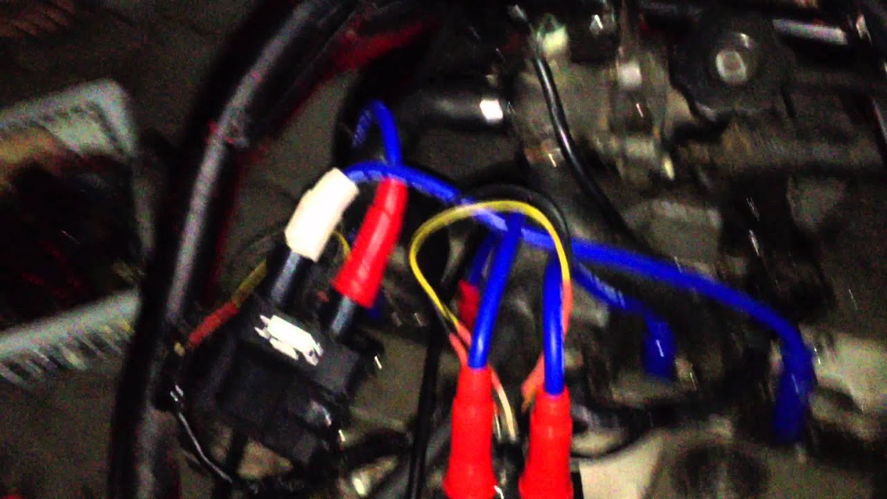 suzuki bandit 400 cc big carb and mazda rx7 fc3s coil youtube suzuki bandit 400 coil wiring [ 1280 x 720 Pixel ]