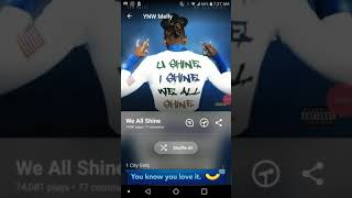 Ynw Melly we all Shine album review