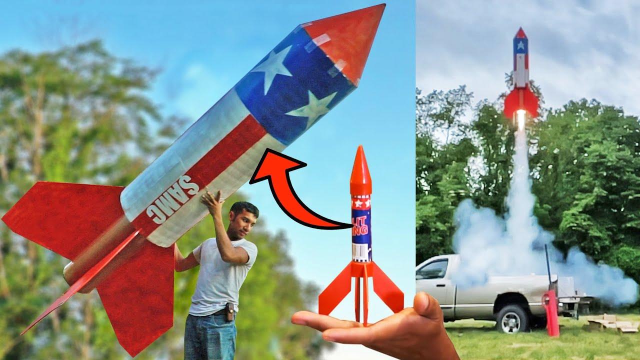 Making a Giant Firework Rocket!