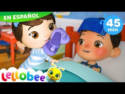 Canciones Infantiles | Estar Enfermito | Dibujos Animados | Little Baby Bum en Español