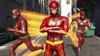 GTA 5 Mods - THE FLASH MOD 2.0 w/ PHASE ABILITY! GTA 5 Flash Mod 2.0 Gameplay! (GTA 5 Mods Gameplay)