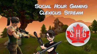 Fortnite Battle Pass Grind | SHG | Social Hour Gaming | Clexious | Fortnite FPS | Best Fornite Kills