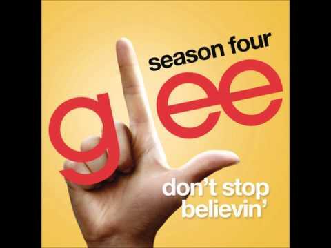 Glee - Don't Stop Believin' (Rachel Solo) (DOWNLOAD MP3+LYRICS)