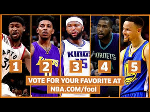 Shaqtin a fool!! Terrence Ross, Nick Young, Demarcus Cousins ans Stephen Curry