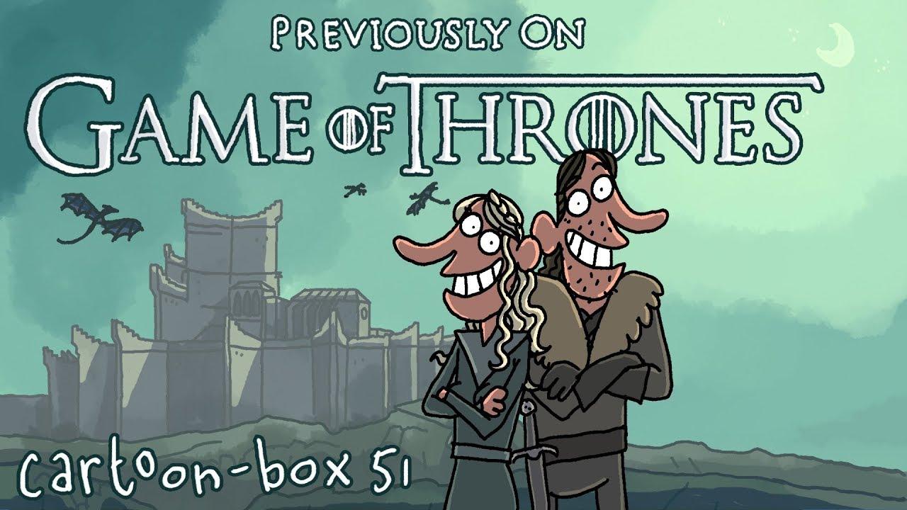 Game Of Thrones Cartoon Parody  Cartoon-Box 51 - Youtube-9203