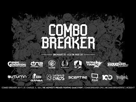 Combo Breaker 2017 Day 1 - Skullgirls Auction & Pools