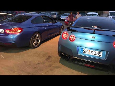 #95 Car vLog - Septaru' si prietenii La Garaj - GTR, M5, RS2, Ferrari