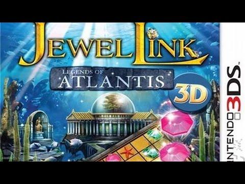Jewel Link Legends of Atlantis Gameplay (Nintendo 3DS) [60 FPS] [1080p]