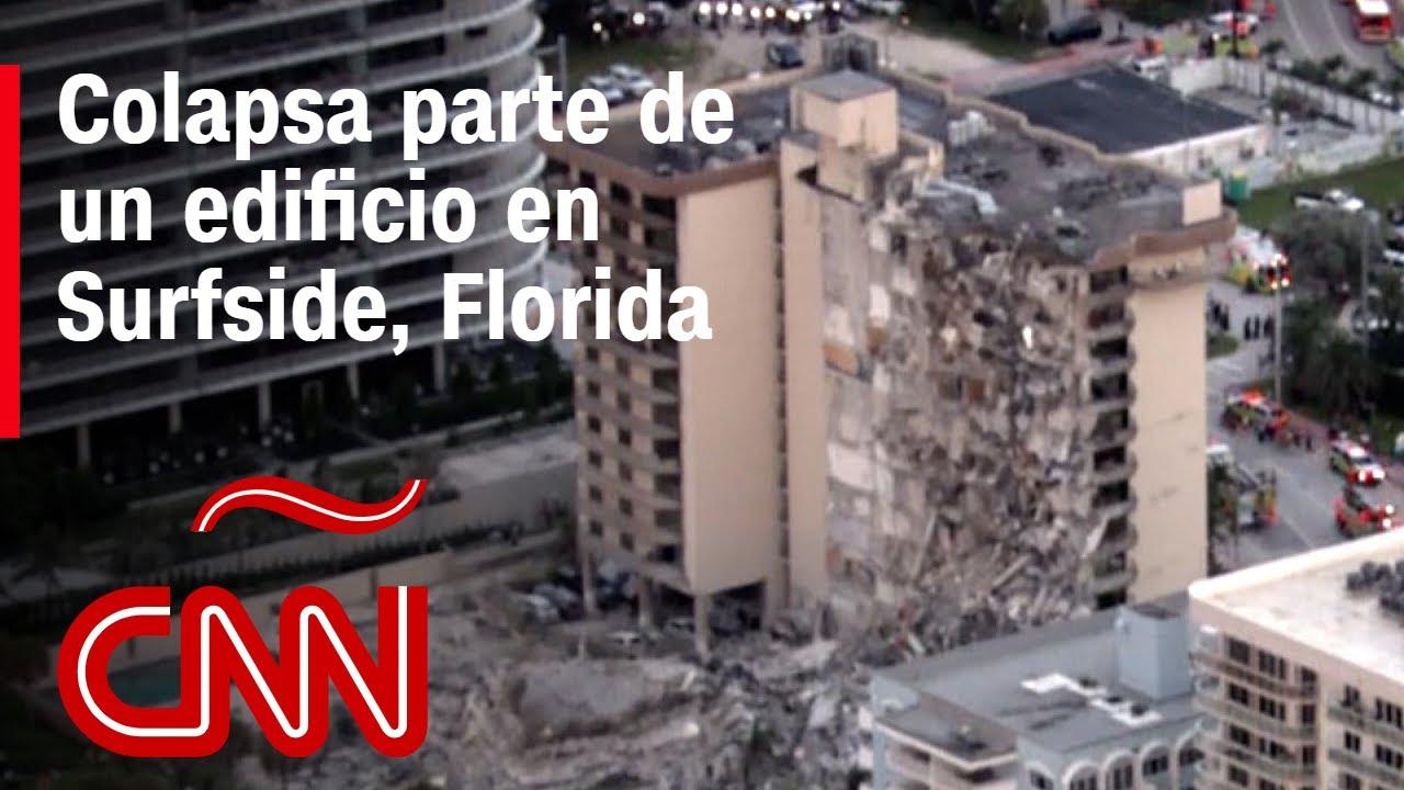 Esposo de una de las víctimas en el edificio que colapsó en Surfside habla con CNN
