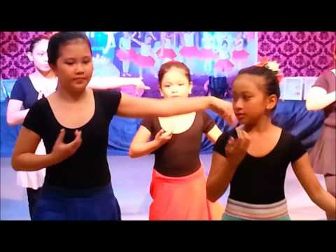 2016 BALLET RECITAL | ADVANCED STUDENTS | LATIN MOVES (Cha-cha-cha)