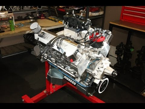 454ci Windsor Induction Assembly & Dyno Test