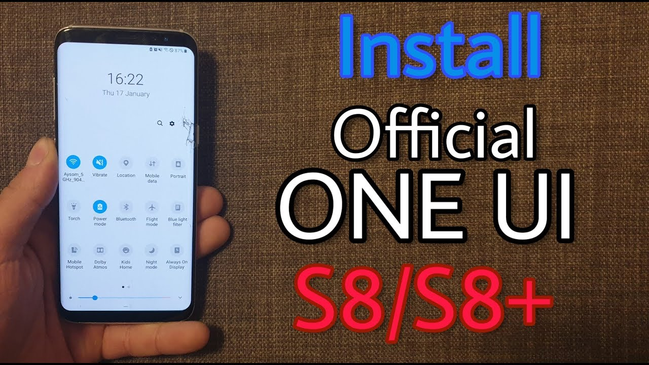 Install Official One UI Pie Update on Galaxy S8, S8+, Note 8