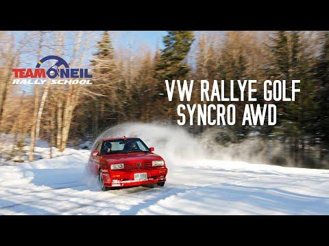 VW Rallye Golf Syncro AWD