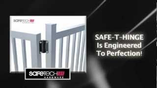 Revolutionary Adjustable Tension Gate Hinges From Safetech Hardware