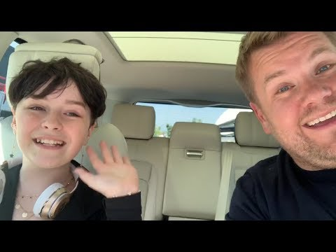 Brittany Blog (58600) - James Corden does heartwarming 'Carpool Karaoke' for fan with cancer