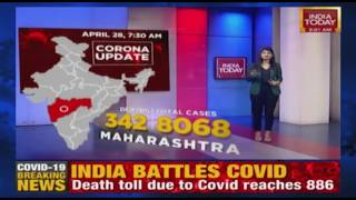 COVID-19 Update: Coronavirus Cases In India Stands At 28,380 With Death Toll At 886