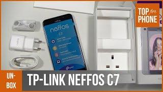 TP-LINK NEFFOS C7 - déballage par TopForPhone