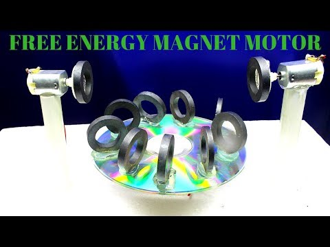 100% Free Energy Magnet Motor - Free energy Magnet Motor work done _ self Running Magnetic Motor