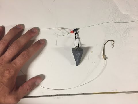 How To Make A FISHFINDER Rig For Striped Bass [Easy!!]