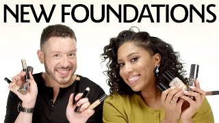New Foundations and Primers With Jefferey and Myiesha | Sephora