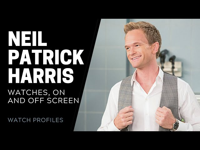 Neil Patrick Harris' Watches On and Off Screen | SwissWatchExpo [Watch Collection]