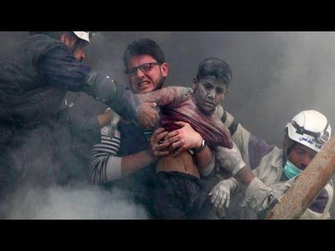 The White Helmets save a lot of people in Syria