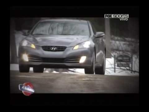 Hyundai Genesis Coup , diseo y pruebas