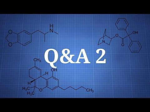 Q&A 2 - Cannabis And The Brain, MDMA Wait Period