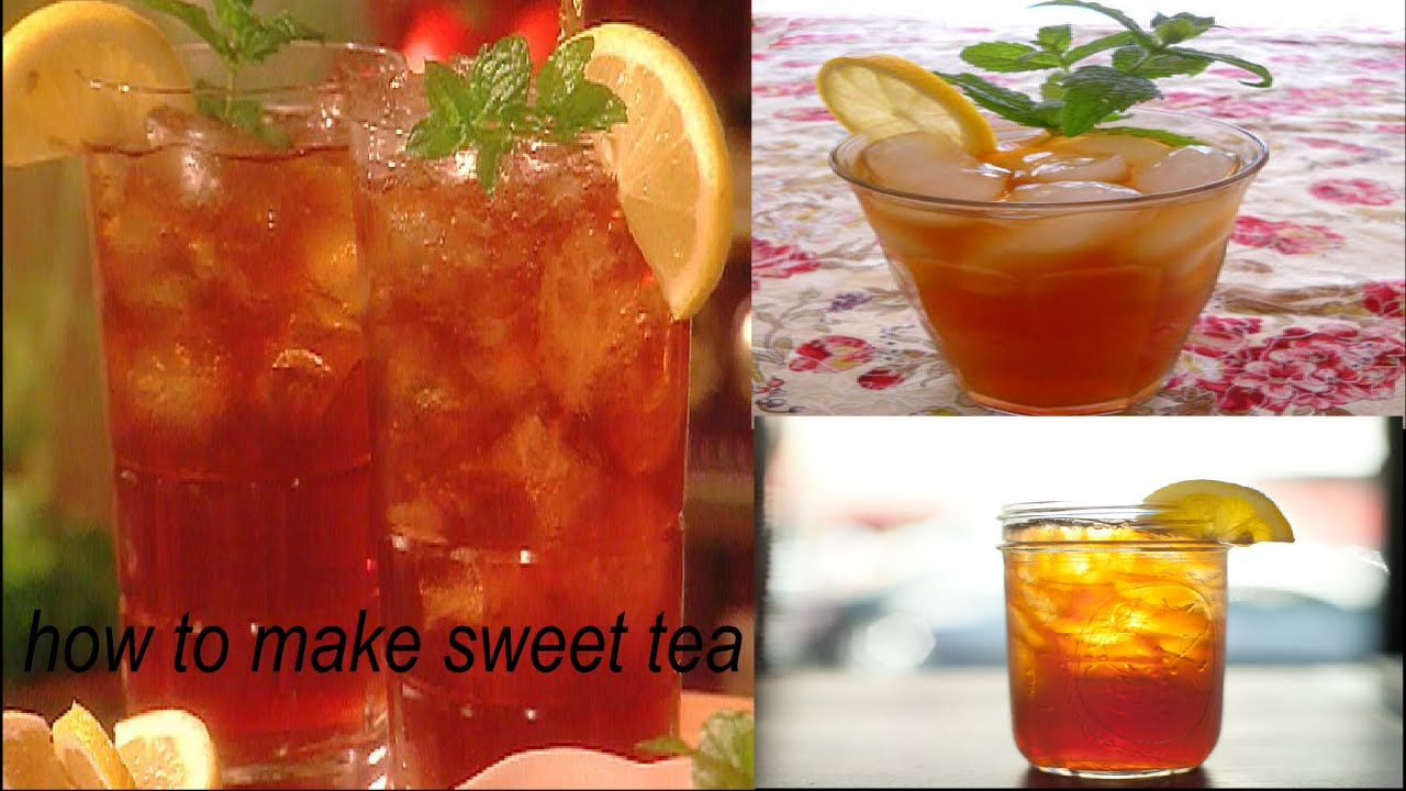 How To Make A Sweet Tea With Bags