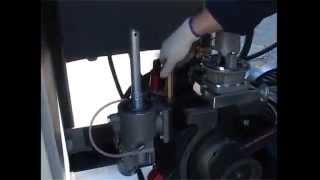 Винтовой блок компрессора NK-160(Винтовой блок Rotorcomp NK-160. Основные компоненты винтового блока компрессора., 2014-08-17T17:55:29.000Z)