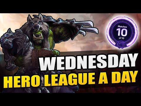 Final placement game! // Hero League a Day