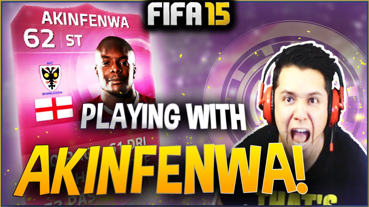 Playing With Akinfenwa Beast Fifa 15 Ultimate Team Youtube