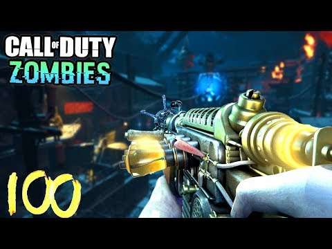 THE GIANT ROUND 100 RUN LIVE! - BLACK OPS 3 ZOMBIES High Round Gameplay Bo3 w/ Ch0pper