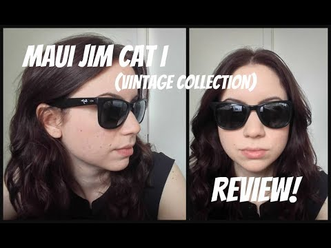 dad1f971dcc Maui Jim Cat I Vintage Collection First Impressions  Review! - YouTube