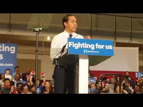 Secretary Castro for Hillary Clinton #Houston TSU 2k16