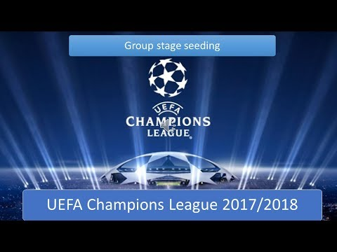 UEFA Champions League 2017/2018 Group stage draw pots