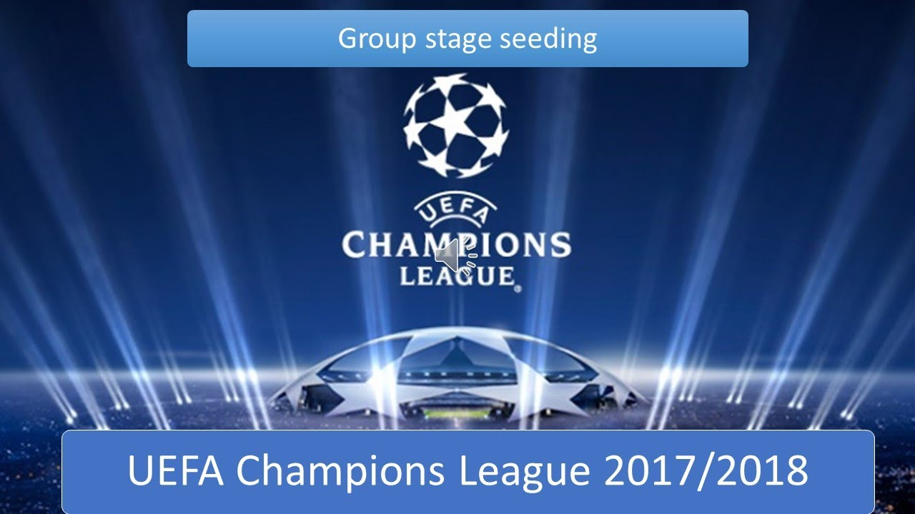 UEFA Champions League 20172018 Group Stage Draw Pots